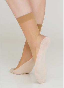 Жіночі шкарпетки з бавовняними підслідниками FOOTIES STYLE SOCKS 20 Giulia