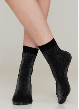 Жіночі шкарпетки з люрексом SHINY calzino Giulia
