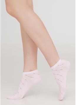 Шкарпетки короткі жіночі WS1 AIR 001 [WS1C/Aj-001] (рожевий)
