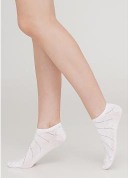 Шкарпетки короткі жіночі WS1 AIR 001 [WS1C/Aj-001] (білий) Giulia