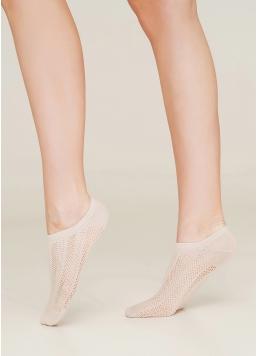 Жіночі короткі шкарпетки WS1 AIR NUDE 006 Giulia