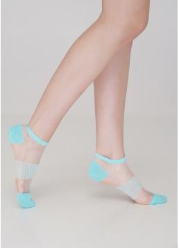 Короткі жіночі шкарпетки прозорі WS1 CRISTAL 028