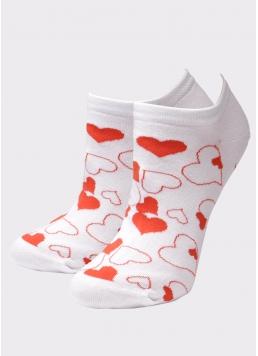 Шкарпетки короткі жіночі WS1 SOFT VALENTINE 003 Giulia
