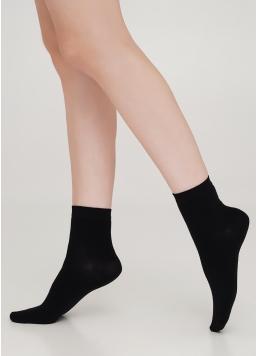 Бавовняні шкарпетки жіночі класичні WS2 CLASSIC black (чорний) Giulia