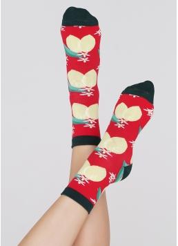 Жіночі шкарпетки WS3 SOFT BERRY 002 Giulia
