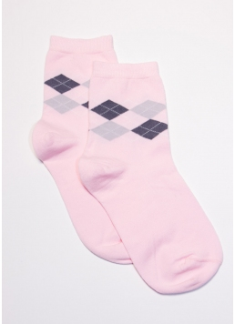 Жіночі шкарпетки з принтом WS3 SOFT FASHION 009 [WS3C / Sl-009] (LSL COMFORT-01) Giulia