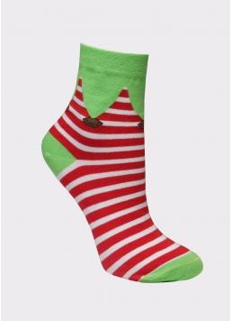 Шкарпетки новорічні жіночі WS3 SOFT NEW YEAR-20-02 Giulia