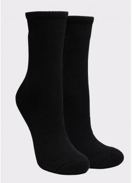 Жіночі спортивні шкарпетки WS3 TERRY SPORT 006 black (чорний)