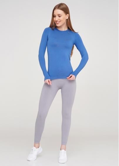 Спортивна футболка з довгим рукавом жіноча T-SHIRT SPORT RUN 02 (синій)