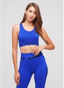 Топ для спорту TOP FIT ENERGY (синій) Giulia