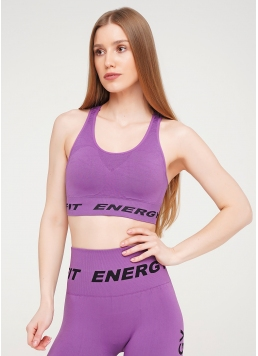 Топ для спорту TOP FIT ENERGY (фіолетовий) Giulia