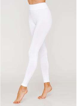 Безшовні легінси з мікрофібри LEGGINGS 02 (білий) Giulia