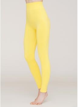Безшовні легінси з мікрофібри LEGGINGS 02 (жовтий)