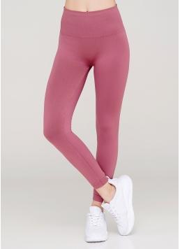 Безшовні легінси з мікрофібри LEGGINGS ENERGY (рожевий) Giulia