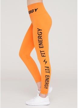 Спортивні лосини LEGGINGS FIT ENERGY (помаранчевий)