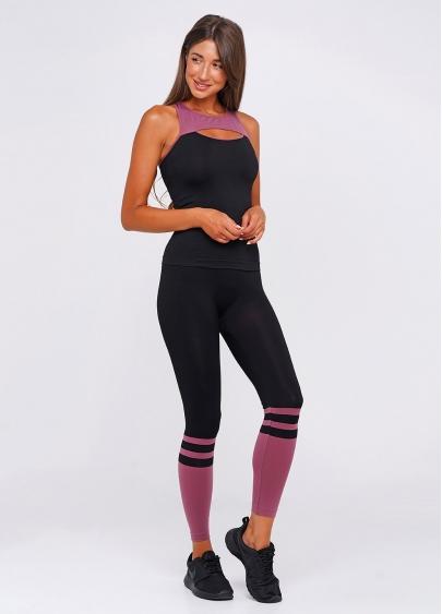 Спортивні лосини LEGGINGS SPORT ENERGY (рожевий)