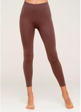 Безшовні легінси для спорту LEGGINGS (коричневий)