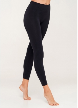 Безшовні легінси для спорту LEGGINGS (чорний) Giulia