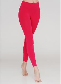 Безшовні легінси для спорту LEGGINGS (яскраво-рожевий)