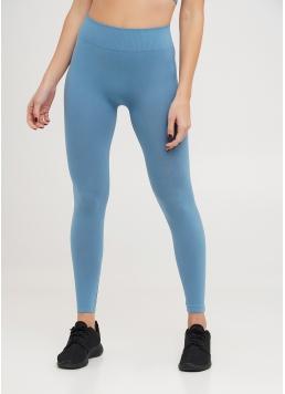 Безшовні легінси для спорту LEGGINGS spring lake (блакитний) Giulia